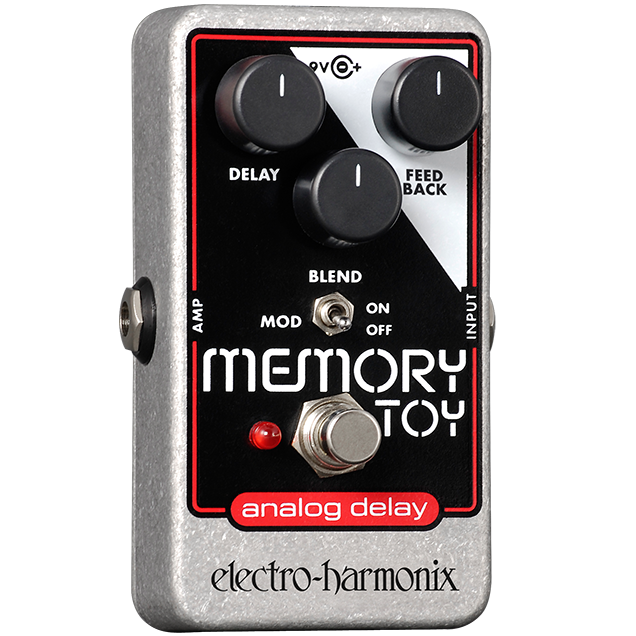 Electro Harmonix MTOY Memory Toy, Analog Delay With Modulation