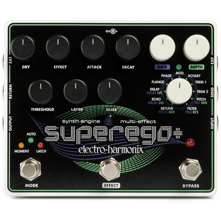 Electro Harmonix SUPEREGOPLUS Super Synth Engine with effects and more