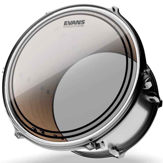 Evans TT16EC2S EC2 Clear Drum Head, 16 Inch