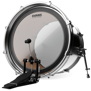 Evans BD18EMAD2 EMAD2 Clear Bass Drum Head, 18 Inch