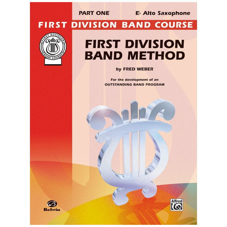 Alfred FDL00009A First Division Method Book 1 - Alto Sax