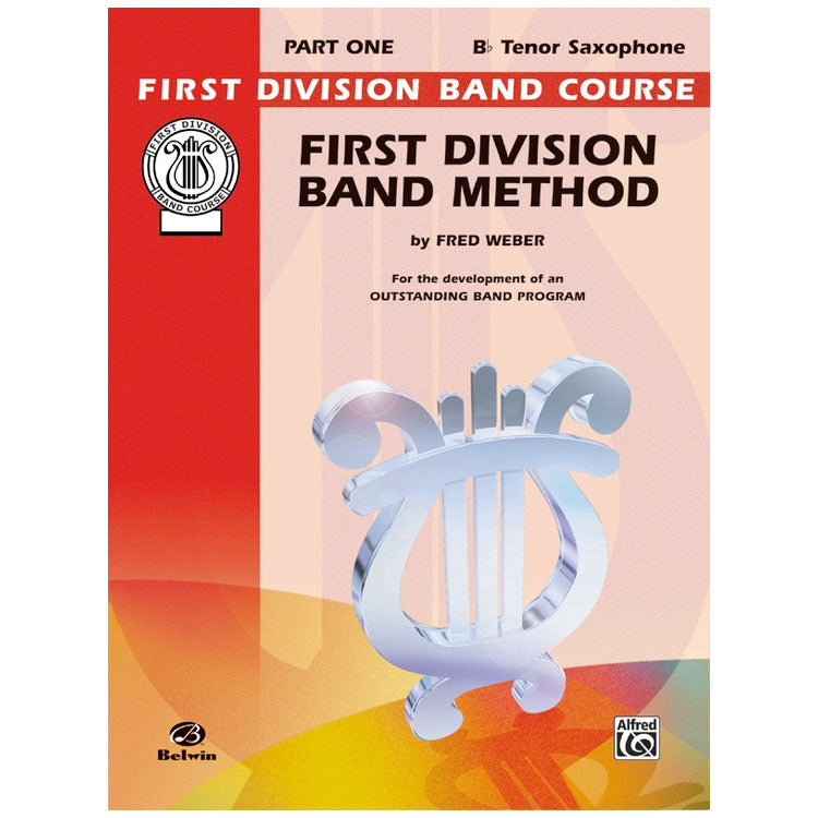 Alfred FDL00010A First Division Method Book 1 - Tenor Sax