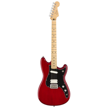 Load image into Gallery viewer, Fender 014-4022-538 Player Duo-Sonic HS Electric Guitar, Crimson Red Transparent