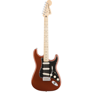 Fender 014-7302-384 Deluxe Roadhouse Strat MN Electric Guitar, Classic Copper