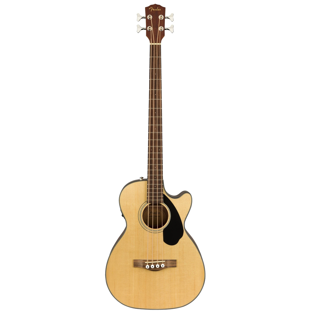Fender 097-0183-021 CB-60SCE Acoustic Bass Guitar, Natural