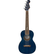 Load image into Gallery viewer, Fender 097-1752-127 Dhani Harrison Tenor Uke, Sapphire Blue