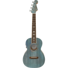 Load image into Gallery viewer, Fender 097-1752-197 Dhani Harrison Tenor Uke, Turquoise