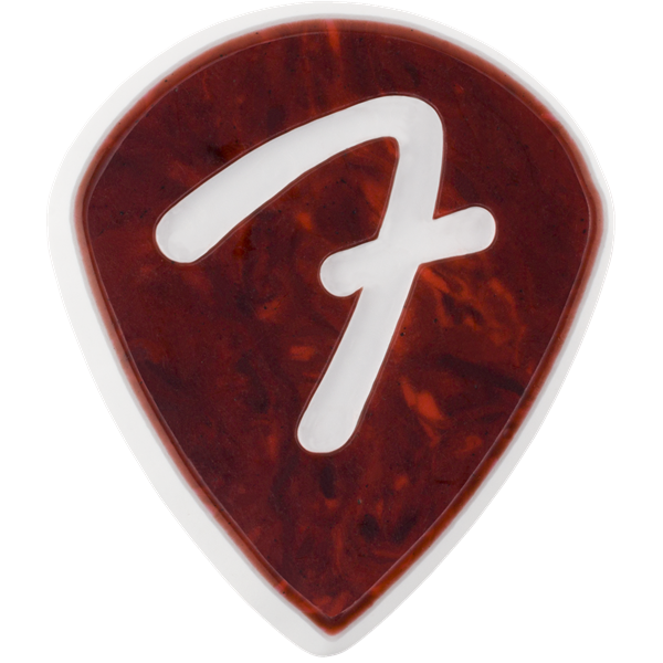 Fender 198-4551-300 F Grip 551 Pick, Shell, 3-Pack