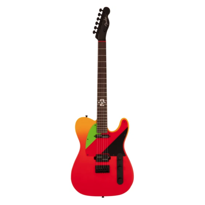 Fender 560-0200-899 2020 Evangelion Asuka Telecaster, Made in Japan