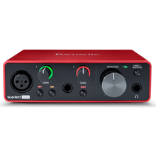 Load image into Gallery viewer, Focusrite SCARLETTSOLOG3 Studio Interface Easy Bundle