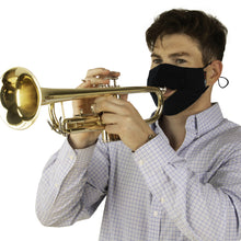 Load image into Gallery viewer, Gator GBOM-LARGEBK Dual-Layer Wind Instrument Face Mask, Large