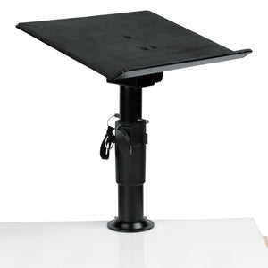 Gator GFWLAPTOP2500 Clampable Universal Laptop Desktop Stand with Adjustable Height