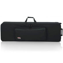 "Load image into Gallery viewer, Gator GK-88-SLIM 88 Slim Keyboards Case w/ Wheels L 53.37"" W 15"" H 6"""