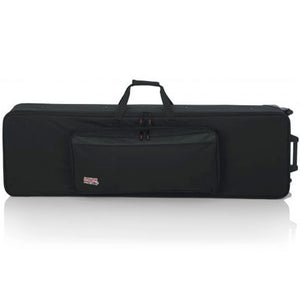 "Gator GK-88-SLIM 88 Slim Keyboards Case w/ Wheels L 53.37"" W 15"" H 6"""