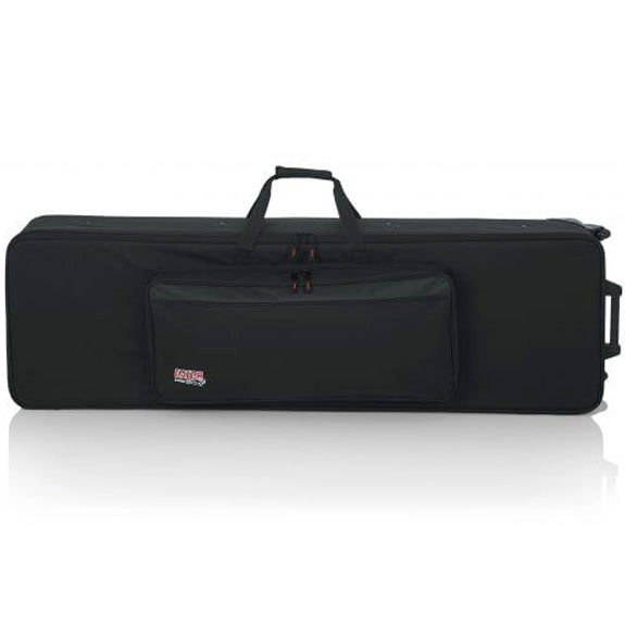 Gator GK-88-SLIM 88 Slim Keyboards Case w/ Wheels L 53.37
