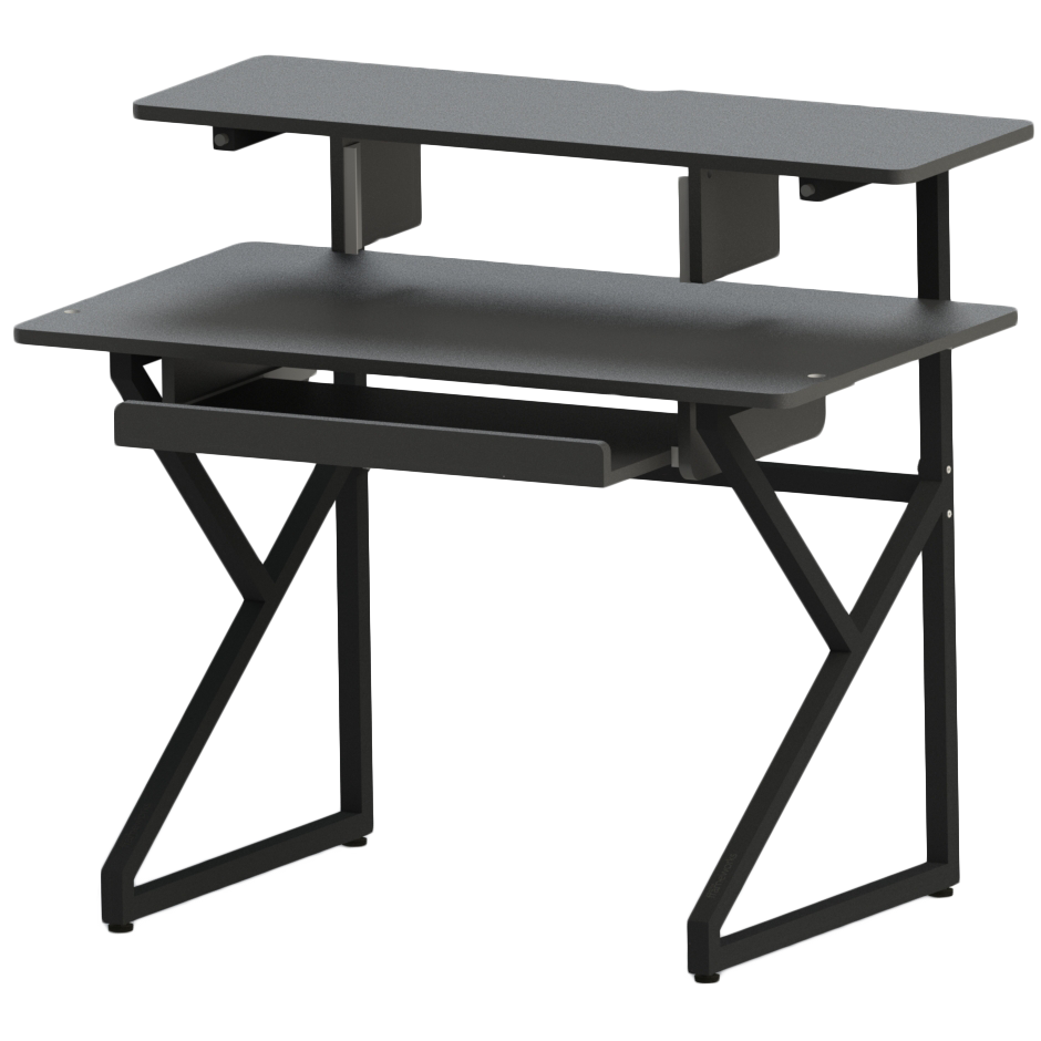 Gator GFW-DESK-MAIN Content Furniture Studio Desk, Black