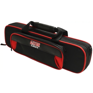 Gator GL-FLUTE-RK Rigid EPS Foam Lightweight Case for Flute, Red and Black