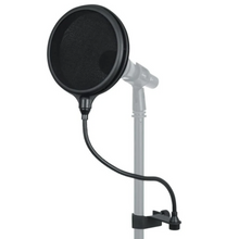 "Load image into Gallery viewer, Gator GM-POP-FILTER 6"" Double Layered, Split Level Pop Filter"