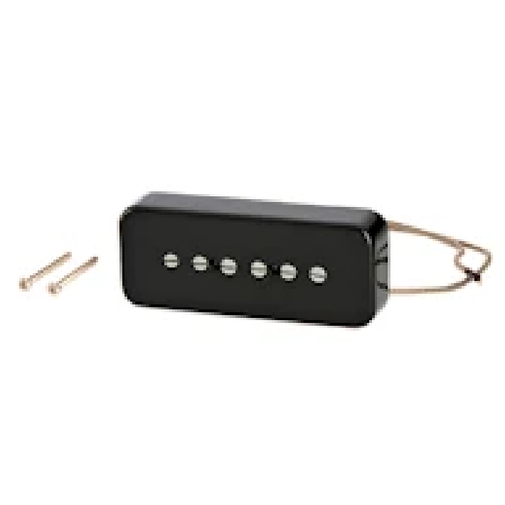 Gibson IMP9R-BC P-90 Single Coil Pickup with Soapbar Cover, Black