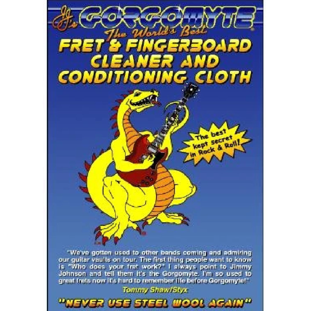 Gorgomyte GORGOMYTE Fretboard Cleaning Cloth