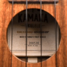 Load image into Gallery viewer, Kamaka HF1 2020 Koa Soprano Ukulele (#200538)