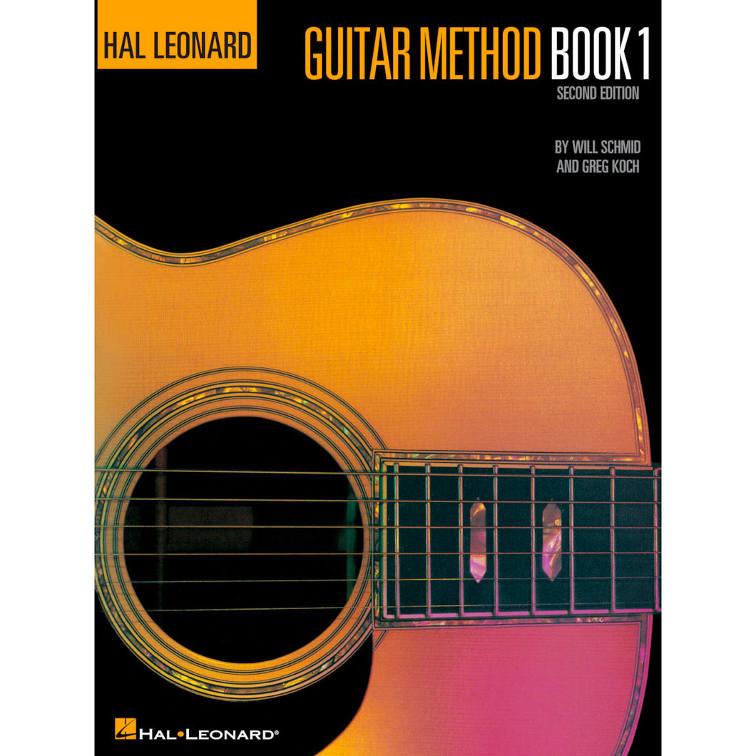 Hal Leonard HL00699010 Guitar Method Book 1