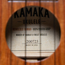 Load image into Gallery viewer, Kamaka HP1 2020 Koa Pineapple Ukulele (#200723)