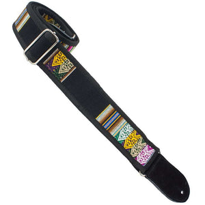 "Henry Heller HPSE-04 2"" Matador Jr. Series, Inca Patterned Guitar Strap"