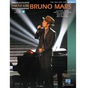 Hal Leonard HL00123121 Bruno Mars, Piano Play-Along