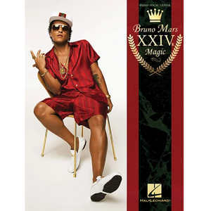 Hal Leonard HL00218254 Bruno Mars - 24K Magic, Piano/Vocal/Guitar Artist Songbook