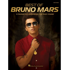 Hal Leonard HL00221887 Best of Bruno Mars, Easy Piano Personality