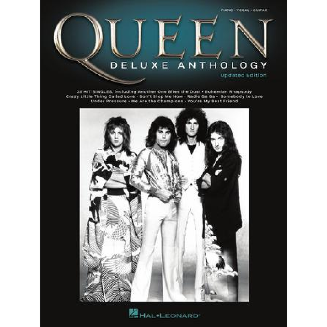 Hal Leonard HL00278683 Queen – Deluxe Anthology (Piano/Vocal/Guitar)