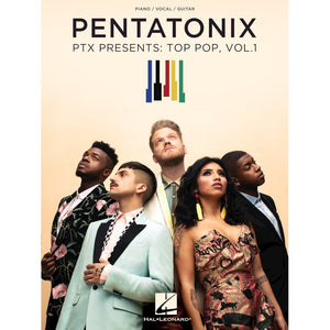 Hal Leonard HL00278900 Pentatonix - PTX Presents: Top Pop, Vol. 1, Piano/Vocal/Guitar Artist Songbook