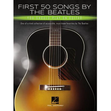 Load image into Gallery viewer, Hal Leonard HL00295323 First 50 Songs by the Beatles You Should Play on Guitar, Guitar Collection