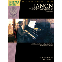 Load image into Gallery viewer, Hal Leonard HL00297081 Hanon: The Virtuoso Pianist Complete Book – New Edition - Piano - Keyboard