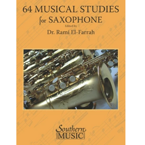 Hal Leonard HL00298119 64 Musical Studies for All Saxophones, Southern Music