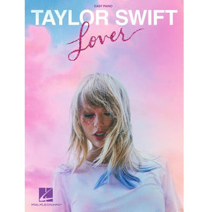 Hal Leonard HL00322685 Taylor Swift – Lover Easy Piano Songbook