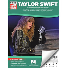 Load image into Gallery viewer, Hal Leonard HL00323195 Taylor Swift – Super Easy Songbook