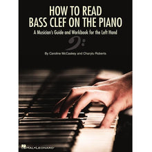 Load image into Gallery viewer, Hal Leonard HL00344932 How To Read Bass Clef On The Piano A Musician's Guide and Workbook for the Left Hand