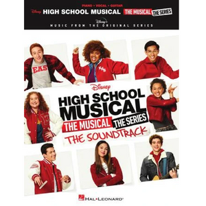 Hal Leonard HL00345571 High School Musical: The Musical: The Series: The Soundtrack, Piano/Vocal/Guitar Songbook