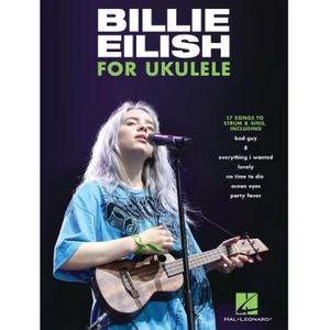 Hal Leonard HL00345575 Billie Eilish for Ukulele, Ukulele