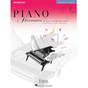 Hal Leonard HL00420171 Level 1 - Lesson Book - 2nd Edition, Faber Piano Adventures®