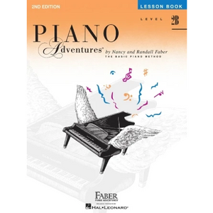 Hal Leonard HL00420177 Level 2B - Lesson Book - 2nd Edition, Faber Piano Adventures®