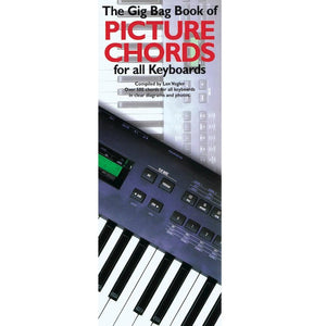 Hal Leonard HL14012664 The Gig Bag Book of Picture Chords for All Keyboards