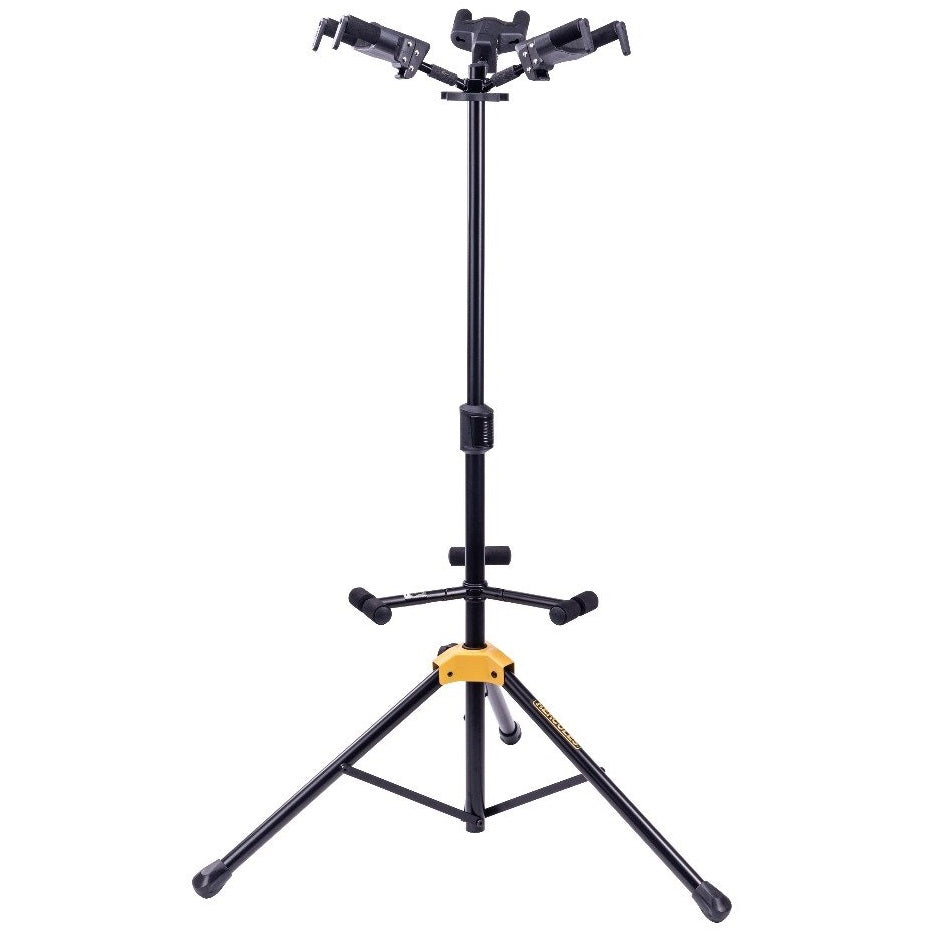 Hercules GS432B+ Triple Guitar Stand with Foldable Backrest