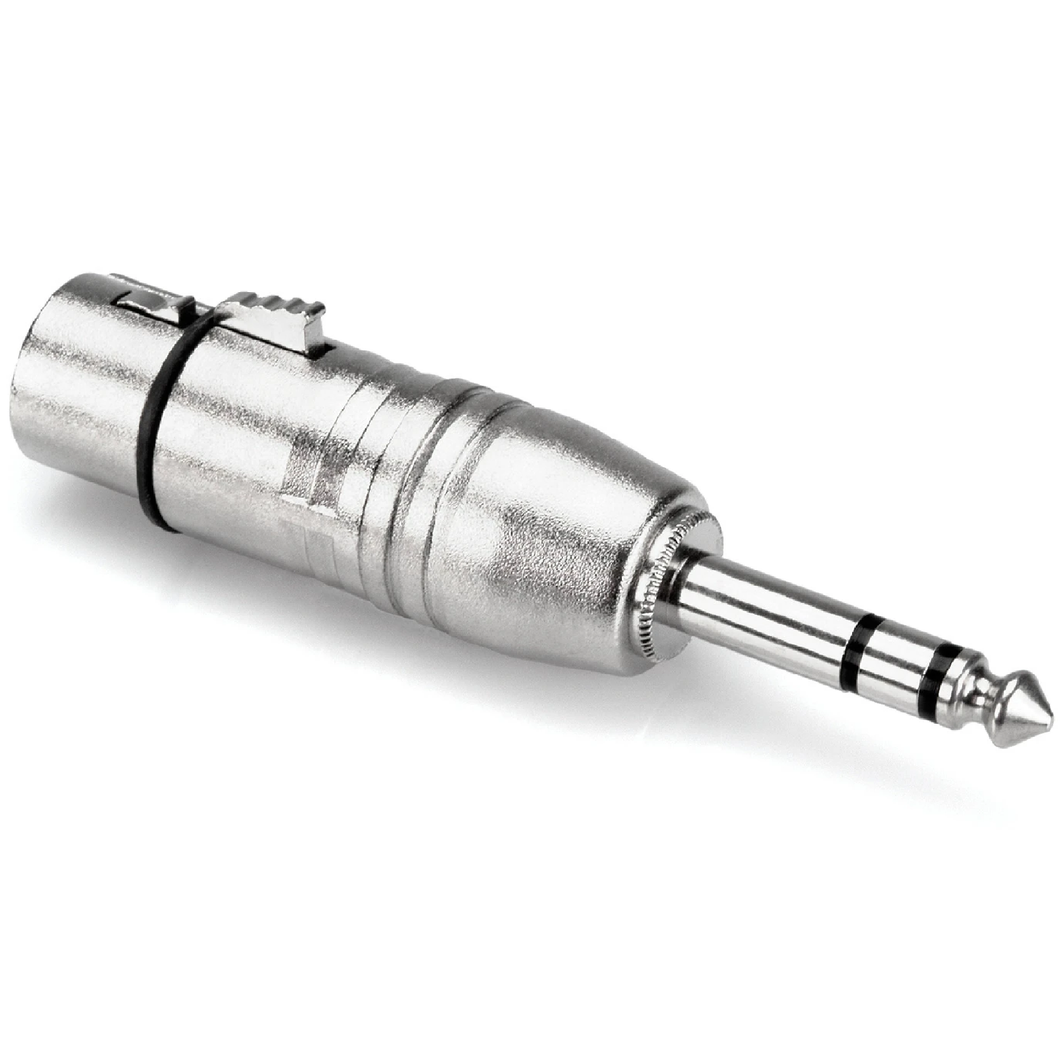 Hosa GXP-143 Adaptor XLR3F to 1/4 in TRS