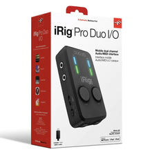 Load image into Gallery viewer, IK Multimedia IRIG-PRODUO-IO iRig Pro Duo I/O 2-channel Audio/MIDI Interface