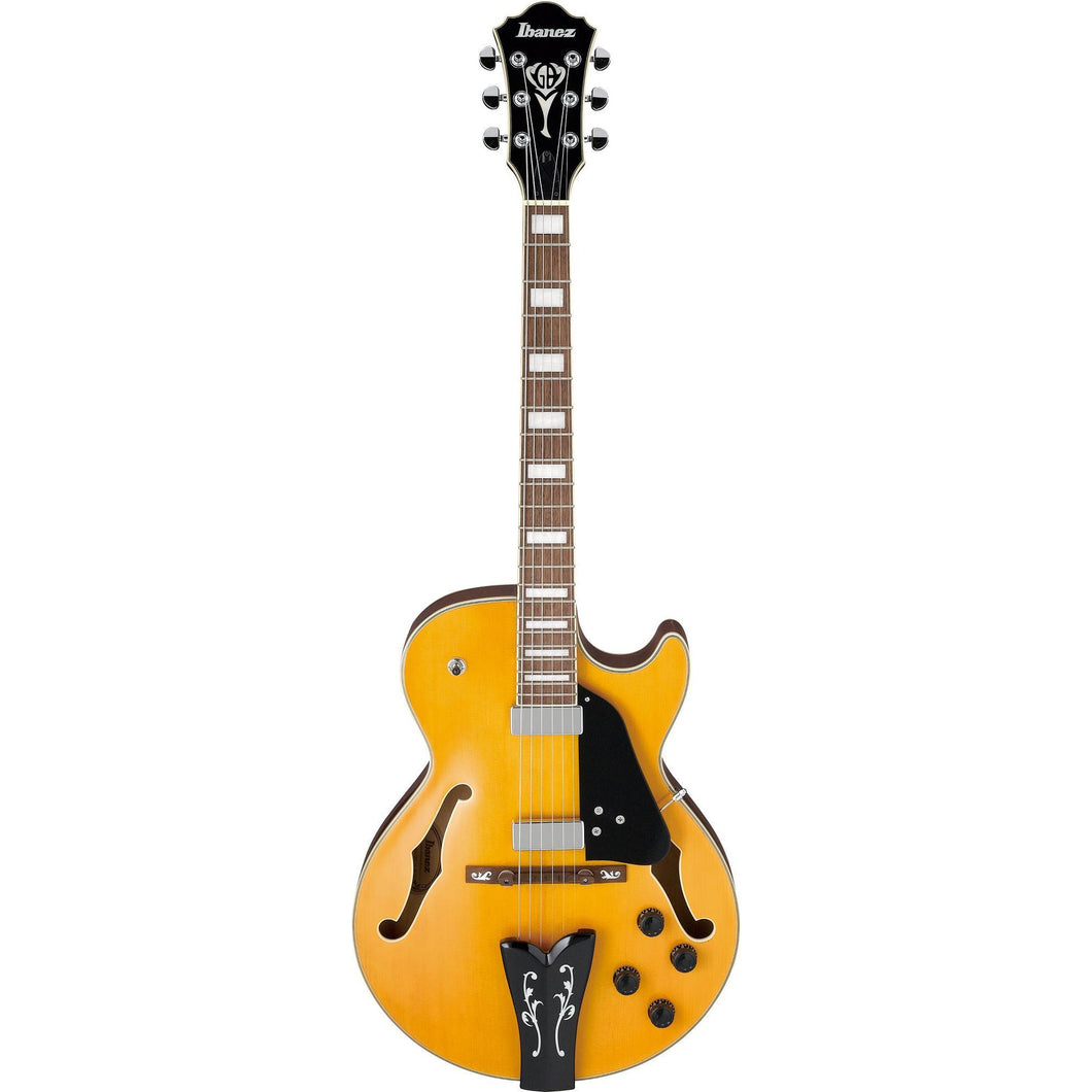 Ibanez GB10EMAA George Benson Signature 6str Hollow Body - Antique Amber