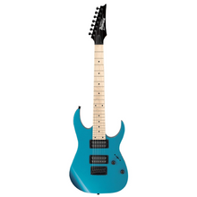 Load image into Gallery viewer, Ibanez GRG7221MMLB Gio RG 7 string, Metalic Light Blue, Maple