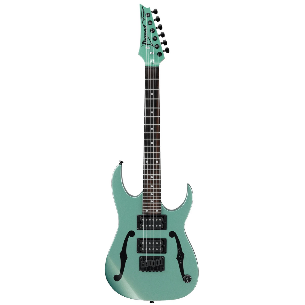 Ibanez PGMM21MGN Paul Gilbert Signature - Mikro, Metallic Green, Pine FB